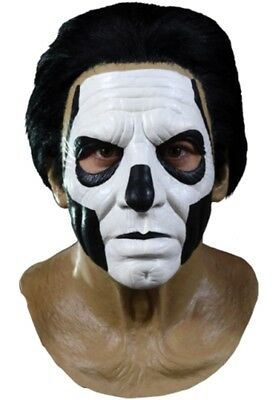 Ghost BC Papa III Emeritus Deluxe Adult Latex Mask Licensed Rock Band Ghouls