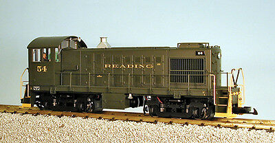 USA Trains G Scale Alco S4 Diesel Switcher Loco R22558 Reading green