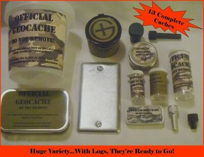 Huge Good Luck Variety Pack Lot of 13 New Geocache Containers