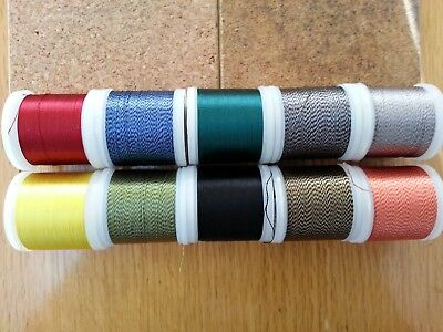 50mtrs.  RAYON  Whipping Thread..various colours.