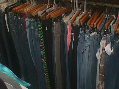 WOMENS PANTS Resale THRIFT Lot 20 Pcs WHOLESALE Used Clothing