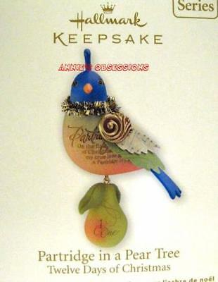 Hallmark 2011 * Twelve Days Of Christmas * Partridge In A Pear Tree * 1St