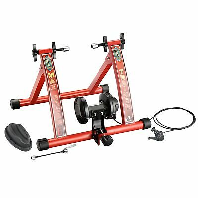 RAD Cycle Products MAX Racer Bicycle Trainer Work Out with 7 Levels of Resist...