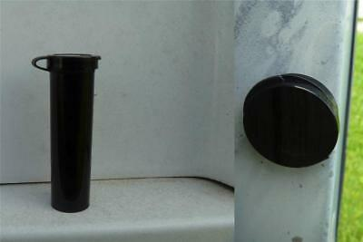 BlackJack & BlackBetty Magnetic Micro Containers Set of 2 Complete Geocaches