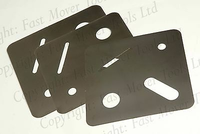 2K Paint Lacquer Run Removal Masking Tool Template Smart Repair Steel Stencil
