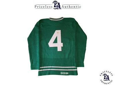 VERY RARE Hap Day Custom Signed Toronto St Pats CCM Vintage Jersey Maple Leafs
