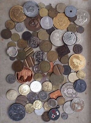 Job Lot. Collection Of At Least 80 X Medallion, Token, Coin, Medal Etc, Bulk Lot