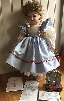 "Beautiful Doll The Hamilton Collection ""Katherine"" by Connie Walser Derek"