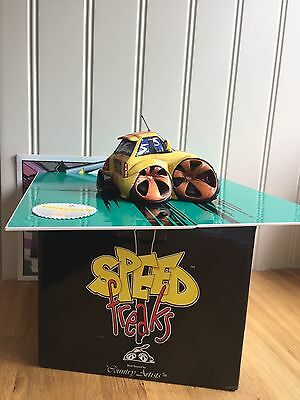 """Boxed SPEED FREAKS """"RATTLE-SKATE"""" 03291 Hand Painted & Crafted By Country Artist"""