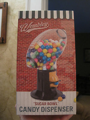 "NEW Wembley ""Sugar Bowl"" Football Candy Gumball Dispenser Machine (L2)"