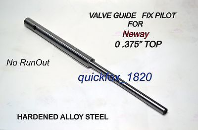 "VALVE GUIDE PILOTS SET .385/"" TOP 4.5,5,5.5,6,7,8 High Carbon Steel Hard"