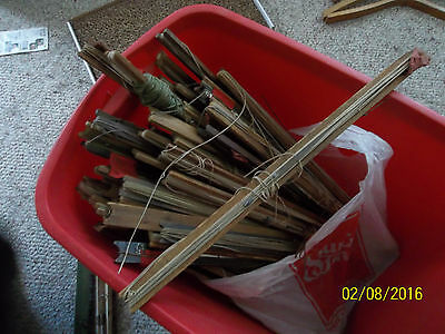 Lot of 43 Vintage Ice Fishing Traps ~ Restaurant ~ Man Cave~Theatre~Camp Decor
