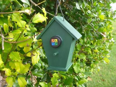 Bird House Geocache Container, Chalet Style, Nice Hide!