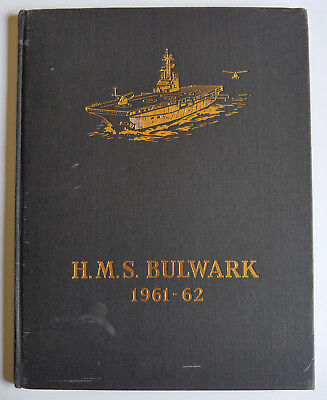 HMS Bulwark Commission book 1961 - 62