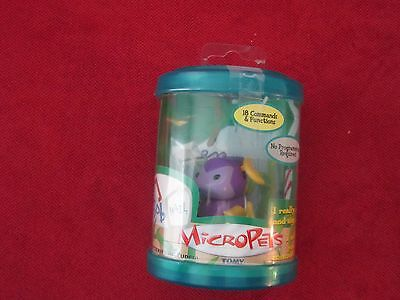 NEW - Micropets - Bob 2002 Tomy