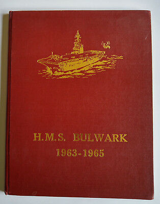 HMS Bulwark Commission book 1963 - 65