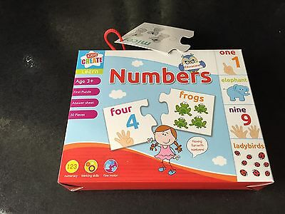 Learn Numbers Puzzle Game