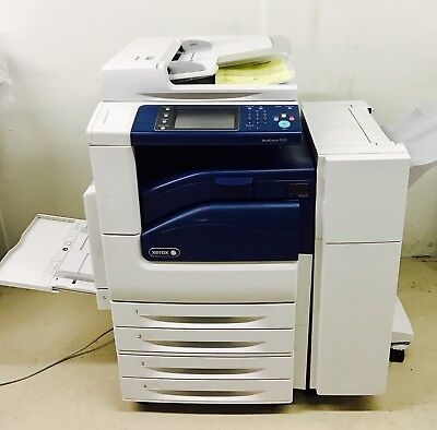Xerox WorkCentre 7125 Color MFP Copier Printer Scanner Finisher 20 ppm 11 x 17
