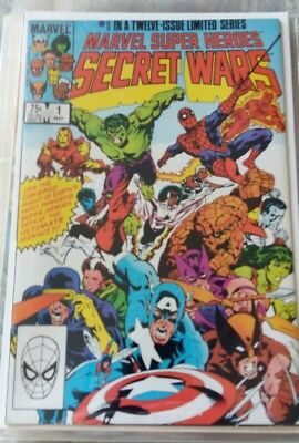 Marvel Superhero secret wars 1