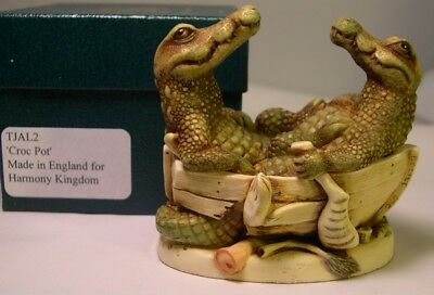 Harmony Kingdom * Croc Pot * Version 1 * M In Box