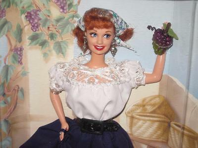 1999 I LOVE LUCY Barbie Doll Lucy's Itallian Movie Episode 150  #25527  NRFB