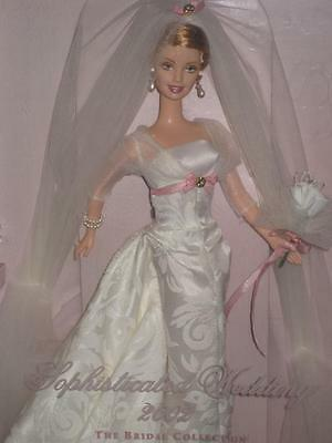 2002 SOPHISTICATED WEDDING Barbie 3rd in Series Bridal Collection 53370 NRFB