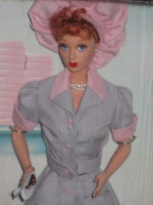 "1998 Barbie LUCILLE BALL AS LUCY RICARDO ""Job Switching"" #21268 NRFB"