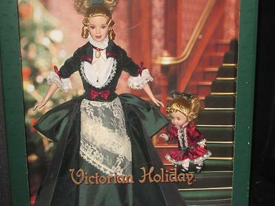 RARE Barbie Victorian Holiday NRFB Barbie and Kelly 2000 #28395