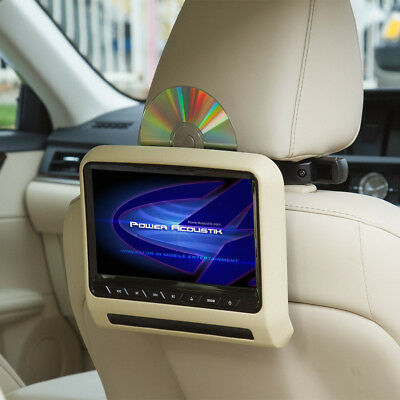 "Power Acoustik PHAD-7 7"" LCD For ACTIVE Headrest Piggy Back Monitor DVD Player"