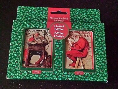 Norman Rockwell Saturday Evening Post Limited Edition Playing Cards NEW