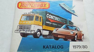 Matchbox Car, Trucks,toys,playset 1979/1980 Brochure,katalog,program Rare!!