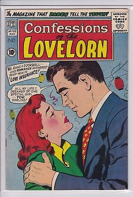 Confessions of the Lovelorn #105  VG/FN  (ACG 1959)   Silver Age Romance Comic
