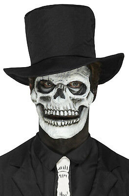 Skeleton Skull Face Prosthetic Make Up Accessory