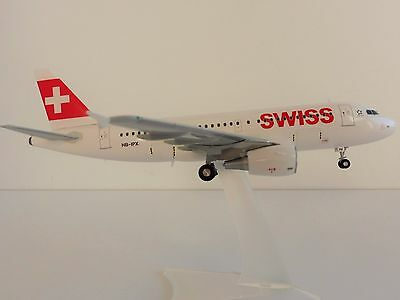 SWISS AIRLINE AIRBUS A319 1/200 Herpa 558020 A 319 A320 International Air Lines