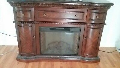 Beautiful Antique Wood Fireplace Mantel