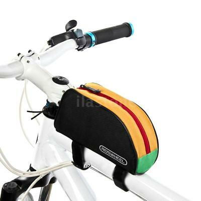 Roswheel Bicycle Bike Cycling Frame Front Top Tube Bag Pouch Pannier 1L Y7S0