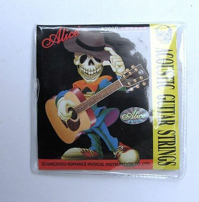 ALICE ACOUSTIC GUITAR STRINGS A206P-SL Steel steel core coated copper