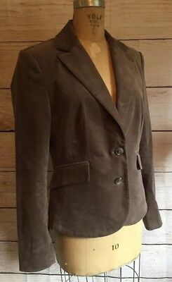 Mexx Ladies XL Taupe Ultra Soft Blazer Size 16 Fully Lined Flattering Design