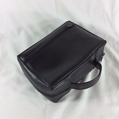 Black Faux Leather Standard Size LDS Scripture Case Mormon Tote Carrying Cover 3