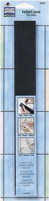 """Gallery Glass Instant Lead Lines 12"""" 21/Pkg Black .0625"""" Thick 028995160929"""