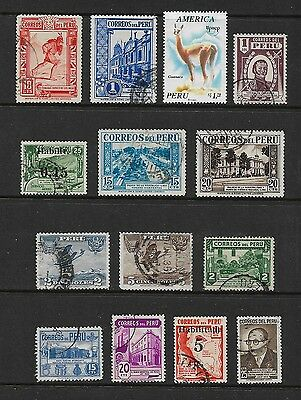 PERU - mixed collection No.7, used