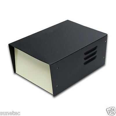 "SU583 5"" DIY Electronic Metal Project Enclosure Box Transformer Case"