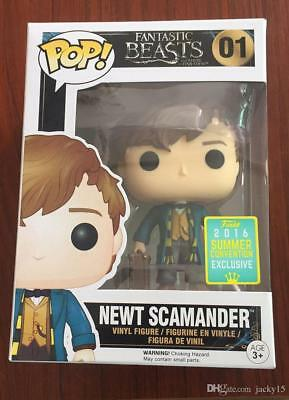 Funko POP Movies: Fantastic Beasts Where to Find Them - Newt Scamander