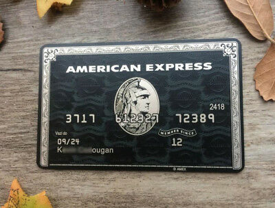 Customize Gift Card Express American Black Card 8D