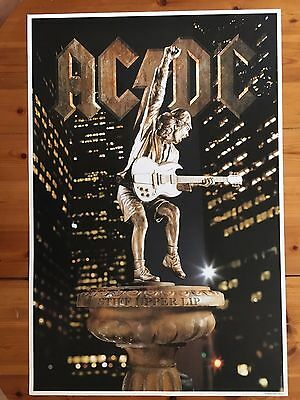 Ac/dc,stiff Upper Lip,official Licensed To Anthill 2000  Poster