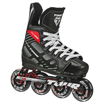 Tour FB225 Adjustable Junior Inline Hockey Skates: UK 1 -4
