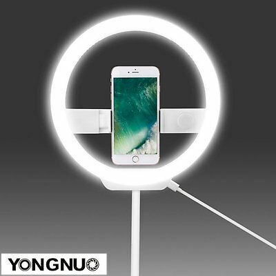 YONGNUO YN128 LED Portable Light for Beauty Blogger Video Selfie iPhone 7 8 US