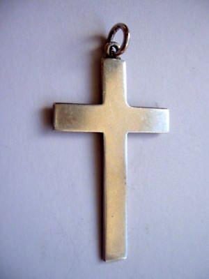 Vintage Sterling Silver Cross. Hallmarked London 1932. Maker A.r.mowbray