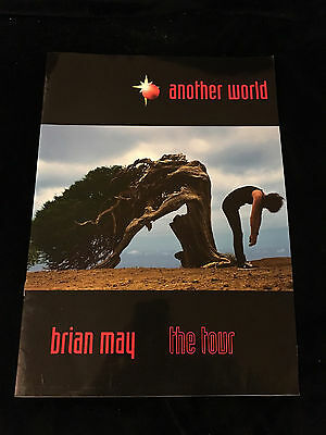 Brian May-Another World Tour-Concert Program Tour Book-1998