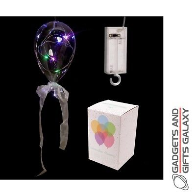 CLEAR LED BALLOON HANGING LIGHT  DECORATION Home decor accessory